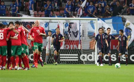 ブルガリア戦 日本代表 サッカー キリンカップ 親善試合 試合結果