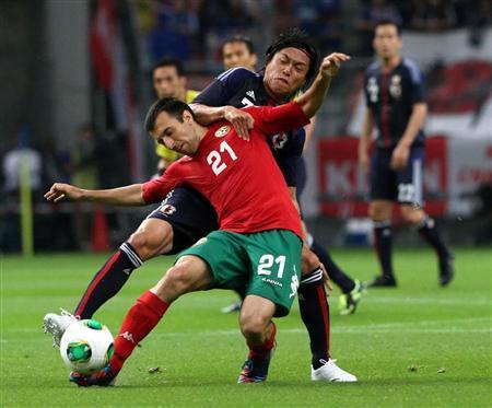 遠藤保仁 ブルガリア戦 日本代表 サッカー キリンカップ 親善試合 試合結果