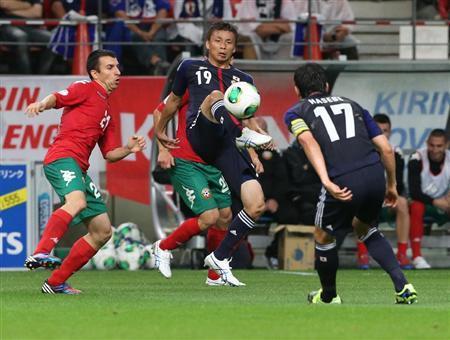 乾貴士 ブルガリア戦 日本代表 サッカー キリンカップ 親善試合 試合結果