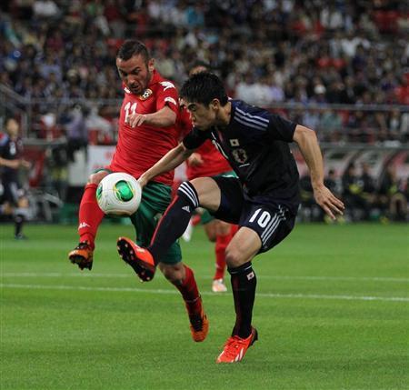 香川真司 ブルガリア戦 日本代表 サッカー キリンカップ 親善試合 試合結果