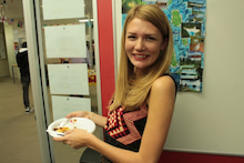 NZのワーキングホリデー、留学の生活情報ブログ-Int'l food show2
