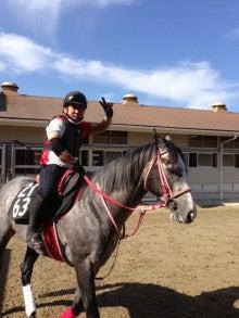 矢作厩舎オフィシャルブログ「よく稼ぎ、よく遊べ!」Powered by Ameba-藤田助手と馬