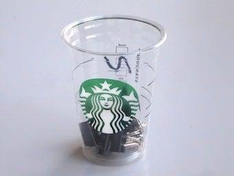 青い雑貨の店&食器棚のナカミのお店・店長のひきだしの中-スタバのカップ 1