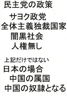 日本人の進路-民主党の政策