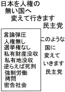 日本人の進路-人権の無い国