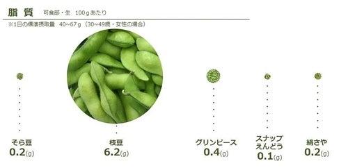 フリーライター・大崎直美のつれづれ日記-まめくらべ_脂質