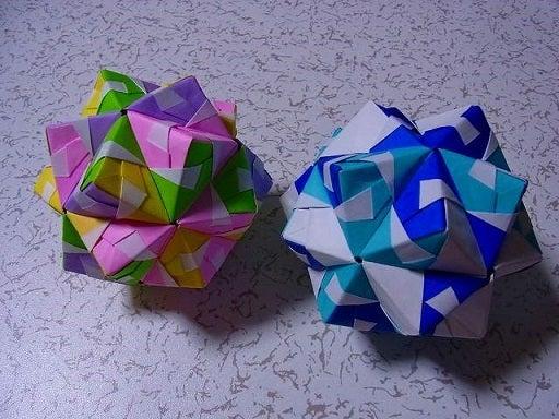 ハート 折り紙 もやっとボール 折り紙 作り方 : ameblo.jp