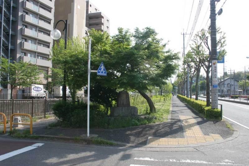 長沼城/石碑周辺