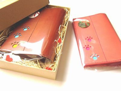 OXIO-CRAFT(オキクラ)の「革雑貨」制作日記-ペアのブックカバー