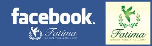 Beauty Salon fatima 【大阪・四ツ橋】グリーンピール&ネイルアート-fatima【大阪 グリーンピール ネイル】facebook