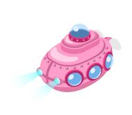りょうのピグ日記 ~ ピグ 釣り部 目指せ!ぬし釣り 攻略 ~-ピグ釣り 秘密の研究所のプチ潜水艇