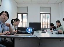 ケイ語学教室のブログ-東忠_プロジェクター