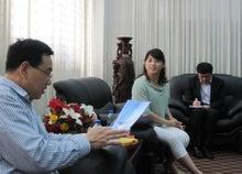 ケイ語学教室のブログ-杭州_3人