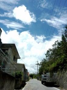 沖縄2013年6月9日の空