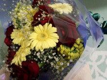 遥香の近況日記-薔薇の花束