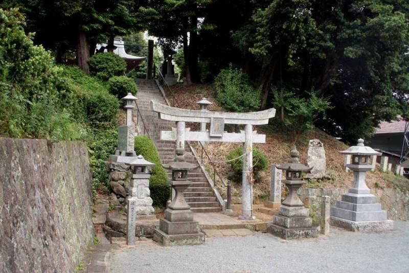 丸山城/御霊神社