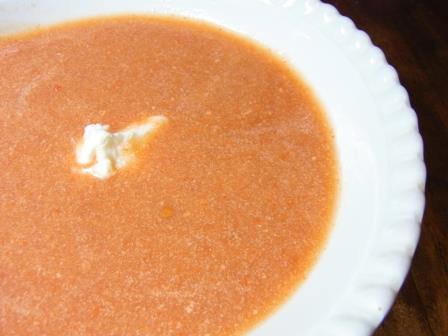 なずな便り  なずな弁当-\6.10トマトスープ