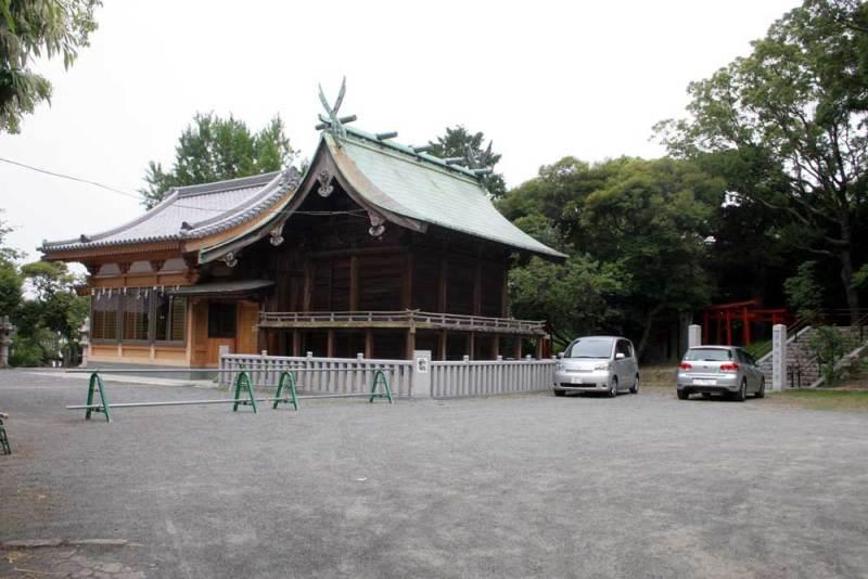 名島城/名島神社