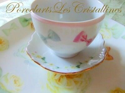 福岡 ポーセラーツと紅茶教室 サロン・クリスタリーヌ