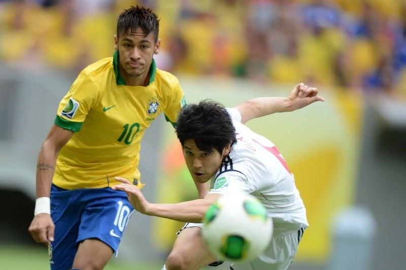 内田篤人ブラジル戦
