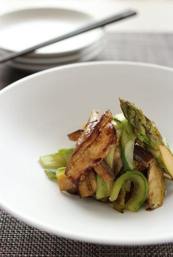 simple-生姜風味のグリーンサラダ