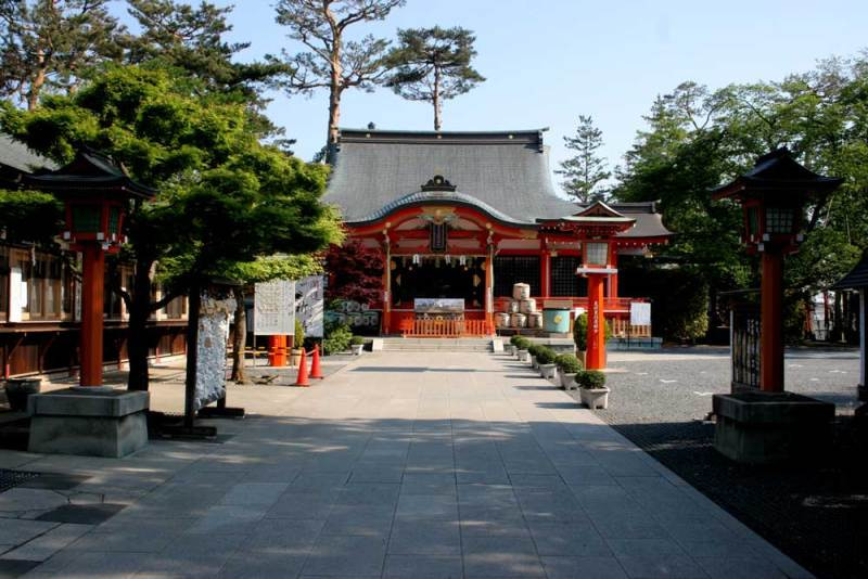 保谷氏館/東伏見稲荷神社社殿