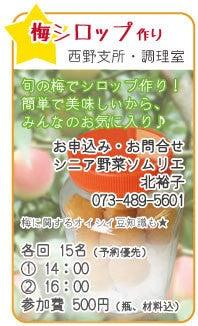 志賀野ブログ-七夕フェスタ梅シロップ作り