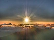 アラン・コーエン認定 ライフコーチ、まさ(松下 正)のブログ-Haleakala山からのご来光