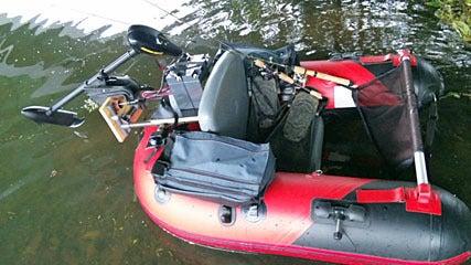 Dr.ミーヤンの下手っぴい釣りブログ-エレキ搭載ミーヤン3号進水式