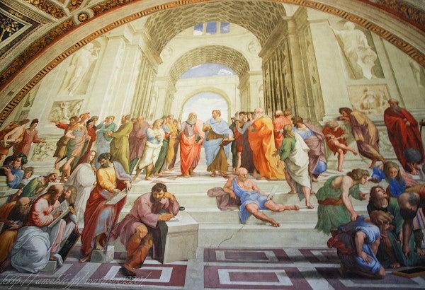 李花梨の海外旅行記ついにイタリア! 27 ローマ ヴァチカン美術館 4 アテネの学堂
