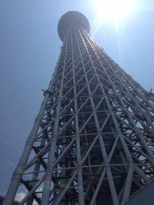BEARING ALL:A Sneak peek into Fuji Seisakusho-下からスカイツリー