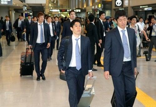 香川真司 サッカー日本代表 帰国 ブラジル コンフェデレーションズカップ 選手