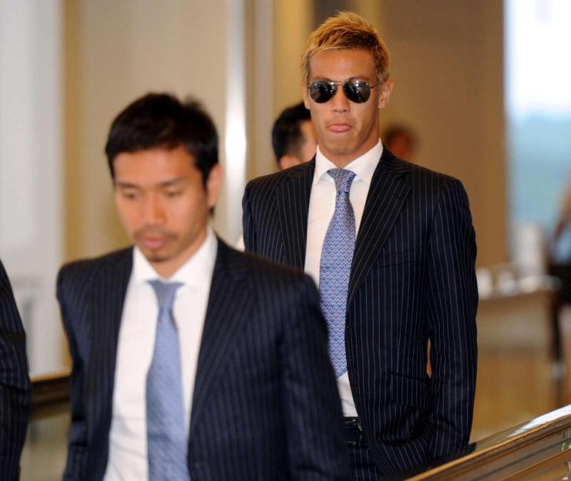 本田圭佑 長友佑都 サッカー日本代表 帰国 ブラジル コンフェデレーションズカップ 選手