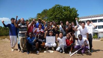 野球小僧 in Tanzania