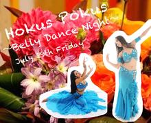 Belly dancer Eva