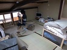京町家を買って改修する男のblog-二階網戸