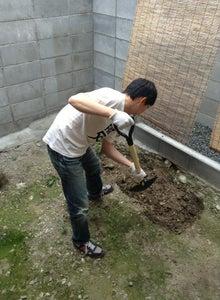 京町家を買って改修する男のblog-掘削
