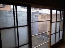 京町家を買って改修する男のblog-庭網戸