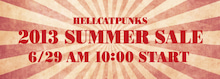 HELL-P's Rock'n Roll Blog [ HELLCATPUNKS OFFICIAL Blog ]-サマーセール☆HELLCATPUNKS