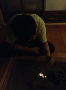京町家を買って改修する男のblog-囲炉裏花火