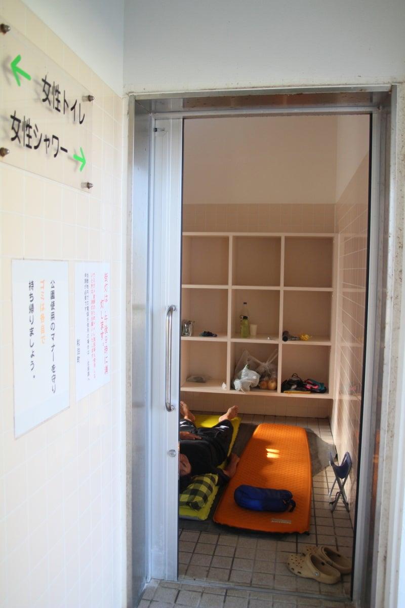 歩き人ふみの徒歩世界旅行 日本・台湾編-女性シャワー室