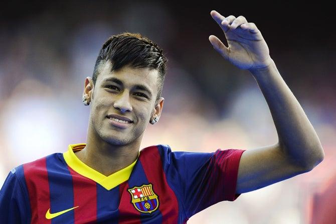 ネイマール バルセロナ サッカー ブラジル スペイン コンフェデレーションズカップ 決勝戦