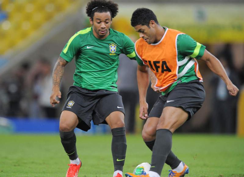 フッキ マルセロ サッカー ブラジル スペイン コンフェデレーションズカップ 決勝戦