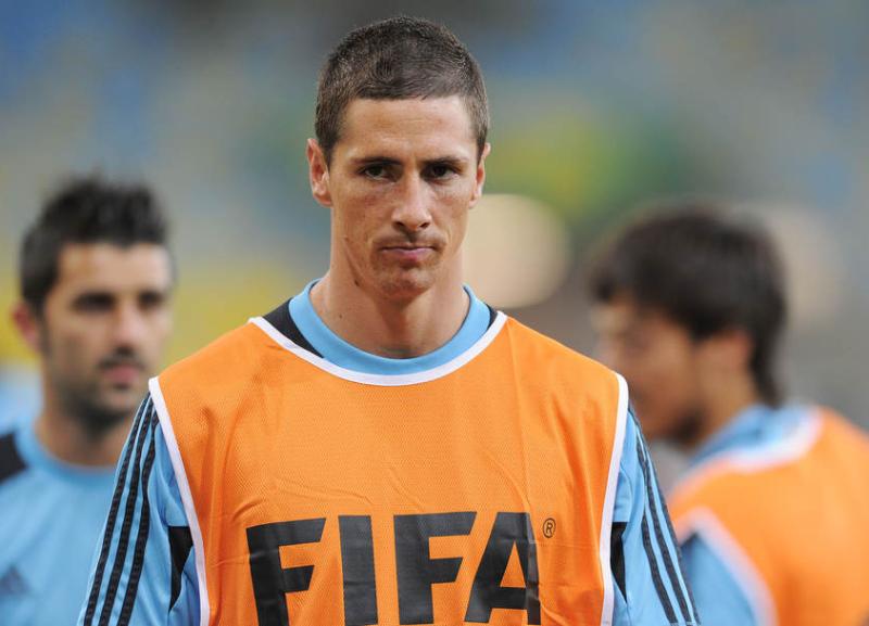 フェルナンド・トーレス サッカー ブラジル スペイン コンフェデレーションズカップ 決勝戦
