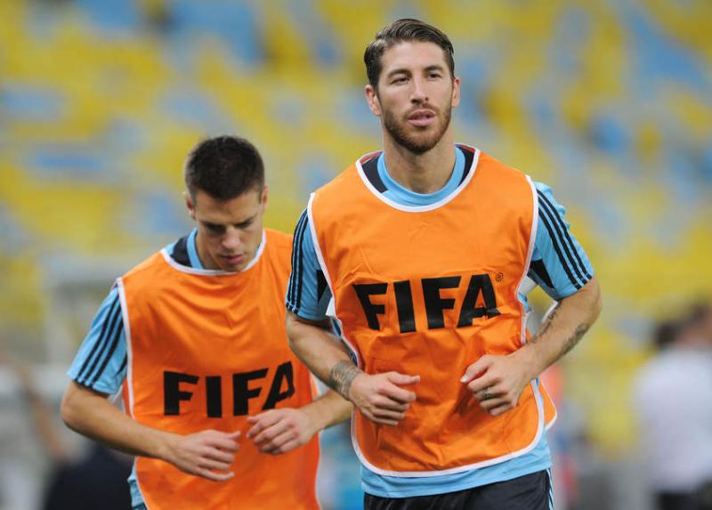セルヒオ・ラモス サッカー ブラジル スペイン コンフェデレーションズカップ 決勝戦