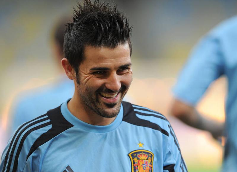 ダビド・ビジャ サッカー ブラジル スペイン コンフェデレーションズカップ 決勝戦