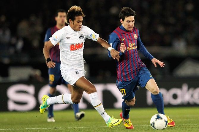 ネイマール バルセロナ サッカー クラブワールドカップ 決勝戦