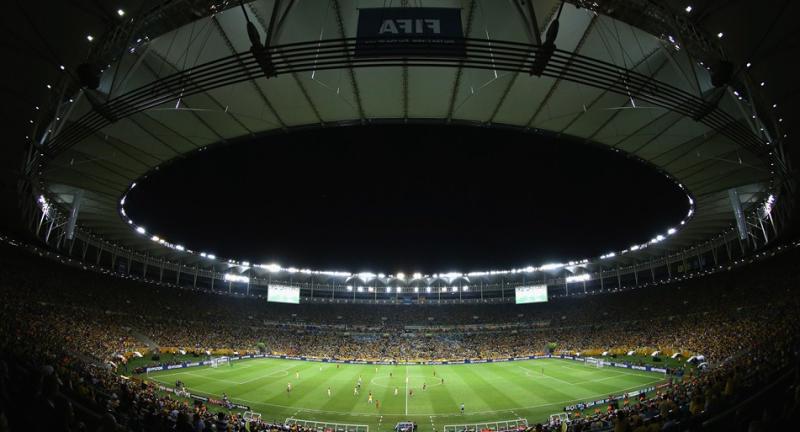 マラカナンスタジアム サッカー ブラジル優勝 スペイン 速報 コンフェデレーションズカップ ブラジル