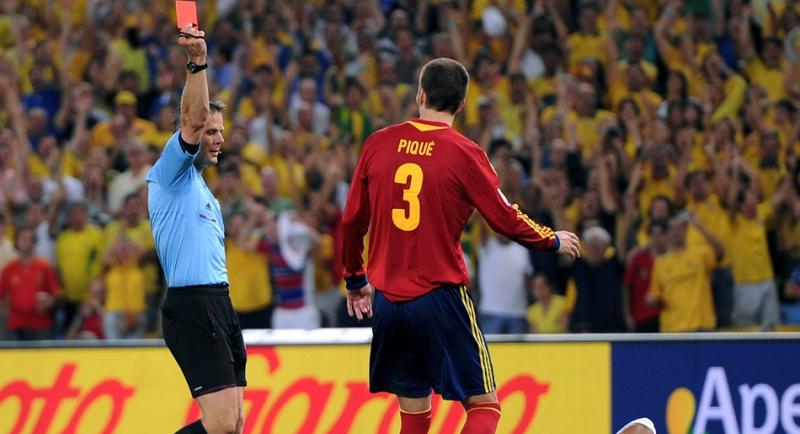 ピケ レッドカード サッカー ブラジル優勝 スペイン 速報 コンフェデレーションズカップ ブラジル