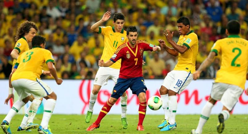 ビジャ サッカー ブラジル優勝 スペイン 速報 コンフェデレーションズカップ ブラジル